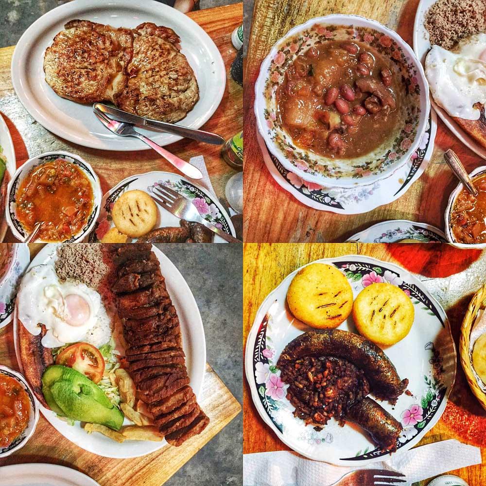Medellin, Columbia – Mâncare tradiţională (Bandeja Paisa)